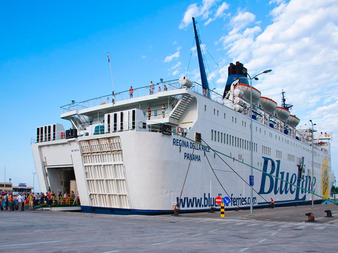 Book color line ferry - Blue Line Ferries Croatia