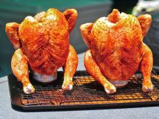 George Motz offers his simple recipe for a juicy beer-can chicken.