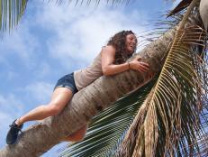 Eyeing a Coconut