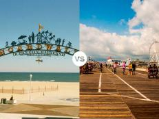 From sunset-watching to boardwalk-strolling, decide which of these towns can lay claim to being the best Ocean City.