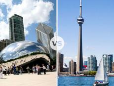It's the US vs. Canada as Chicago and Toronto battle it out for the title of Best Lakeside City. You be the judge!