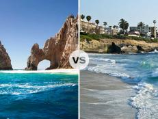 "It's the city of motion vs. the beauty of Baja as San Diego and Cabo San Lucas battle it out for the title of ""Best Pacific Paradise."""