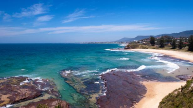 North Wollongong Beach, Sydney, Australia