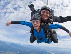 See our recommendations for the best places to go skydiving.