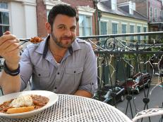 Adam Richman in New Orleans