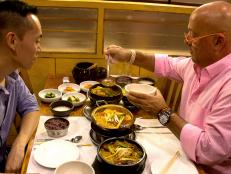 Andrew Zimmern in New York City