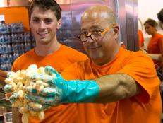 Andrew Zimmern at Minnesota State Fair