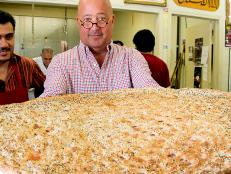 Andrew Zimmern at Little Kabul's Maiwand Market
