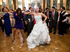 Greek Wedding Money Dance