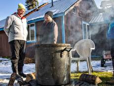Andrew Zimmern in Alaska