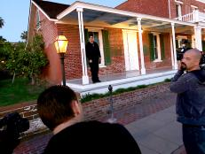 Ghost Adventures crew at Whaley House