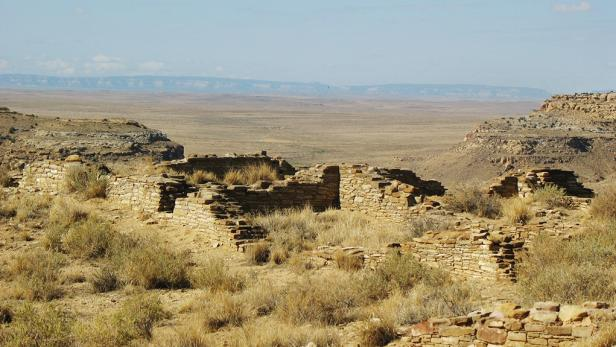 Chaco Culture National Park - Pueblo Alto
