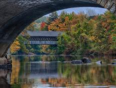 Henniker Covered Bridge, NH