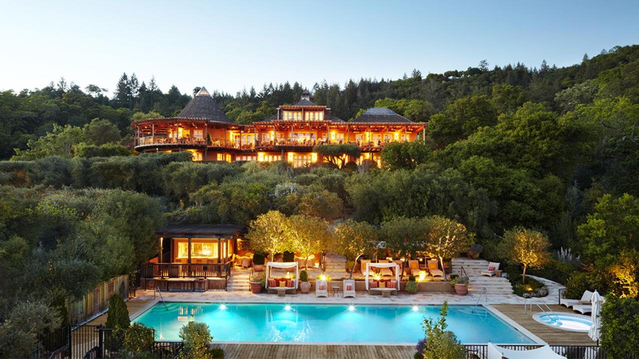 Best Hotels In Napa Valley And Sonoma