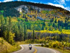 Drive these scenic byways when visiting South Dakota in the fall.