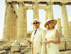 two faces of january, movie, athens, greece, ancient ruins