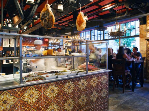 estadio, restaurant, interior, dining, washington, dc
