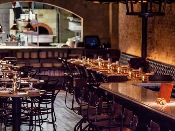ghibellina, restaurant, interior, dining room, washington, dc