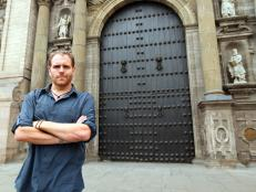 josh gates, expedition unknown, cathedral of lima in peru