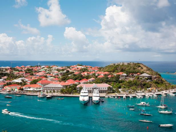 st barths, luxury, yachts, harbor