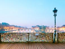 ponts des arts, love, bridge, padlocks, paris, france