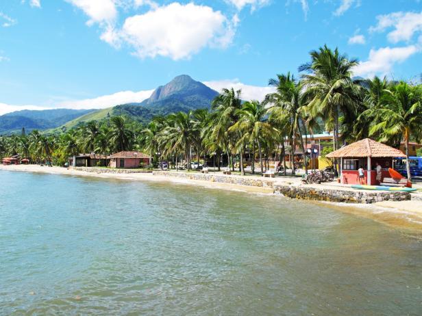 pereque beach, illhabela island, brazil