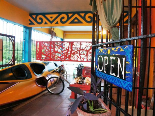 arte fango, interior, sign, culebra, puerto rico
