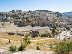 east jerusalem, homes, hills, israel