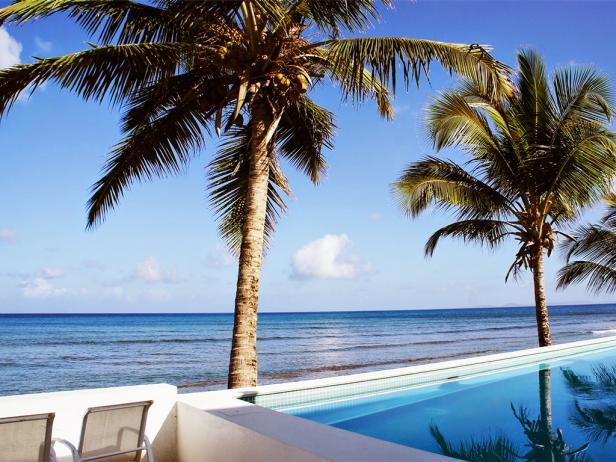 bravo beach hotel, pool, vieques, puerto rico
