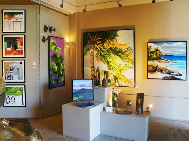hutchinson art gallery, vieques, puerto rico