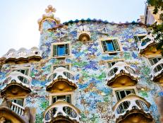 casa batllo, exterior, architecture, barcelona, spain