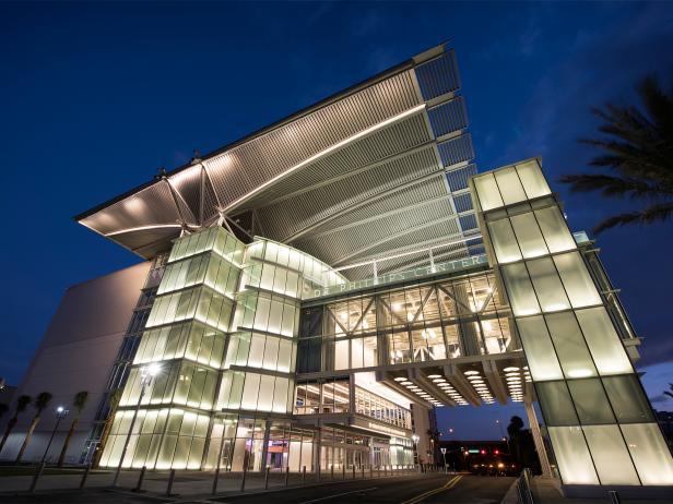 dr. phillips center, exterior, building, orlando, florida