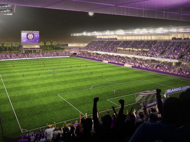 orlando city soccer club, stadium, orlando, florida
