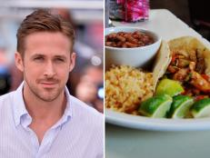 Ryan Gosling, Guero's Taco Bar, Austin, Texas