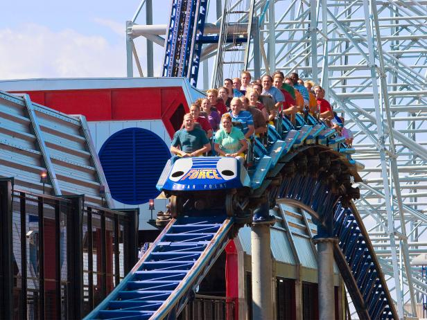 Millenium Force, Cedar Point, Sandusky, Ohio