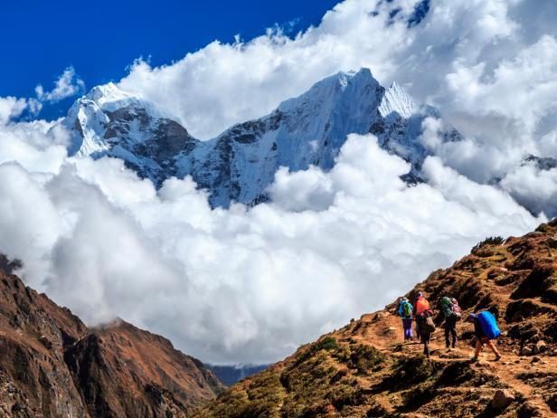 trekking, Himalaya, mountains, Nepal