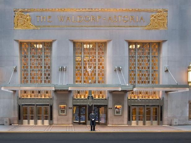 Waldorf Astoria New York, exterior, hotel, Hilton