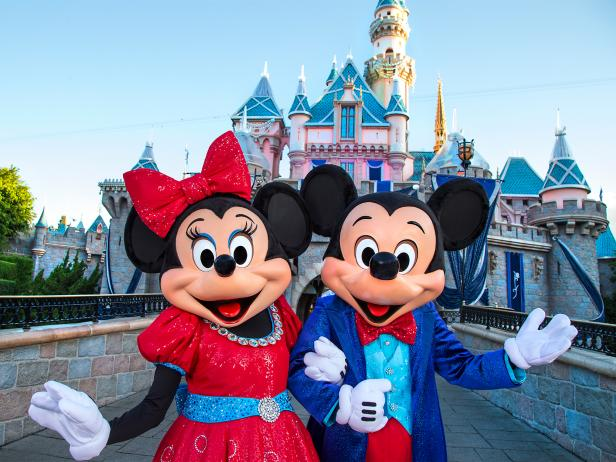 Disneyland, 60th Anniversary, Mickey and Minnie Mouse, Disney