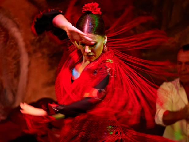 Tablao El Arenal, flamenco, Seville, Spain
