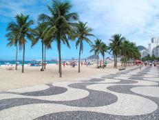 Copacabana Beach Promenade, Rio de Janeiro, Brazil