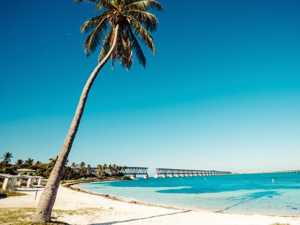 Bahia Honda State Park, beach, Big Pine Key, Florida