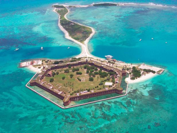 Dry Tortugas National Park, Fort Jefferson, Key West, Florida