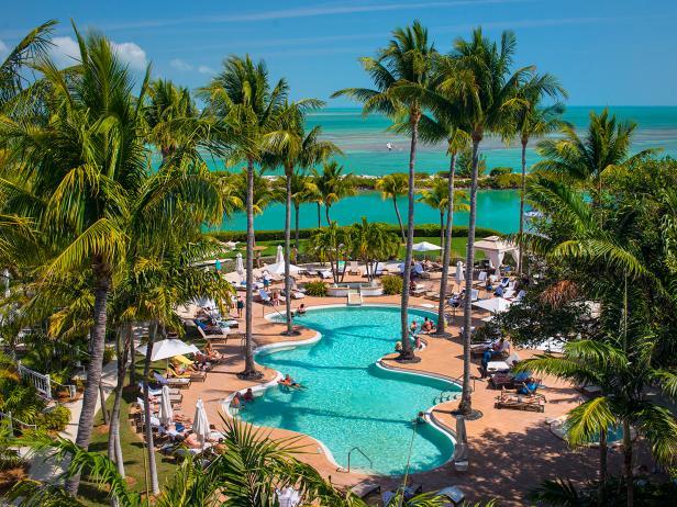 Hawks Cay, resort, tranquility pool, Duck Key, Florida