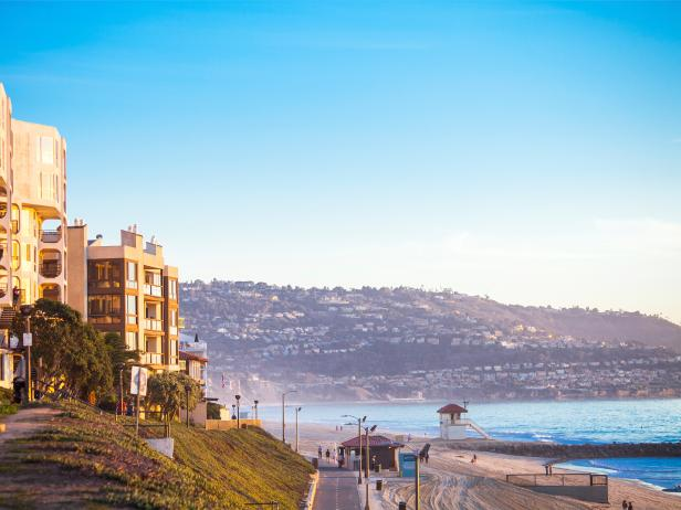 Redondo Beach, coastline, Los Angeles, California