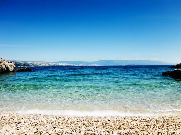 Kandalora Beach, Rab Island, Croatia