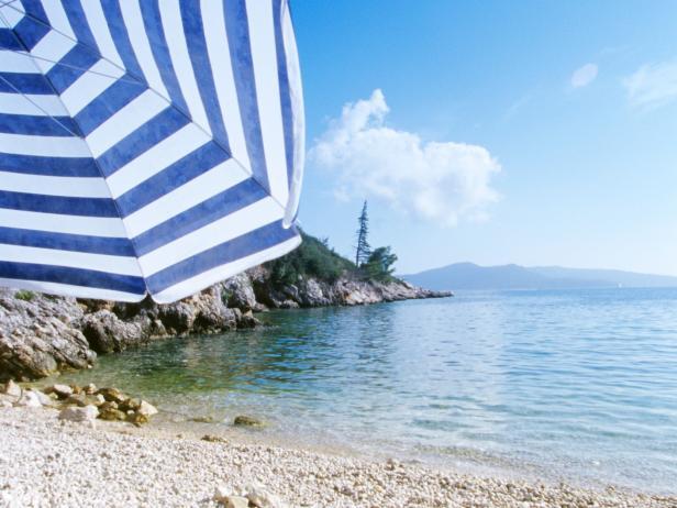 Plat Beach, Dubrovnik, Croatia