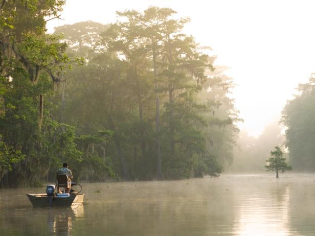 fishing, Lake Martin, Lafayette, Lousiana