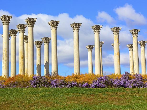 National Arboretum, columns, Washington, DC