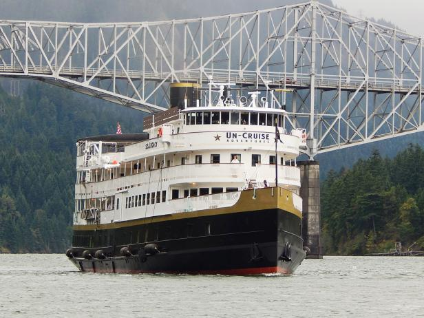 Un-Cruise Adventures, S.S. Legacy, Columbia River, Snake River