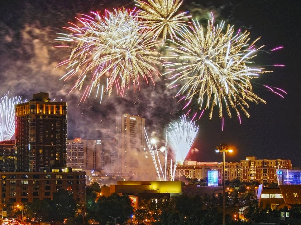 best us fireworks displays travel channel
